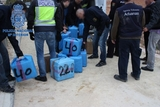 13 tons of hashish intercepted on Almería coastline