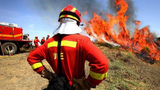 Extreme fire risk in southern Spain