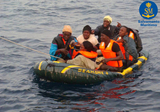 Eighteen illegal immigrants intercepted crossing the Straits of Gibraltar