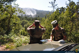 Fire warning patrols in Galicia step up their efforts with military assistance