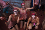 Annual Tomatina tomato battle takes over the streets of Bunyol