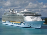 361 metre long Oasis of the Seas docks in Malaga as first Spanish port of call