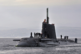 British nuclear submarine arrives in Gibraltar