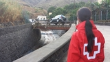 One fatality and widespread flooding in Canaries storms