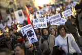 More protests throughout Spain against the new Citizen Security Law