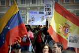 Spanish voters warned against Podemos in Madrid demonstration
